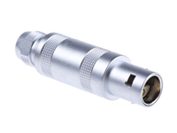 Lemo series 0s - ffa.0s.302.clac44 - 2 contacts male cable-mount connector
