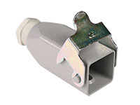 Ilme CKA 03 VG - HAN 3A Metal Connector for Cable-Mounting - 21601010