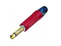 Neutrik NP2X AUSILENT - 6.3 mm Jack Plug - 2 Pole Straight Cable-Mount Male