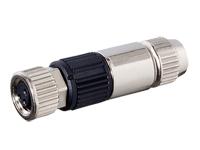 Murrelektronik MOSA M8 - Connecteur Circulaire M8 Femelle Droite 3 Pôles Métal - 7000-08371-0000000