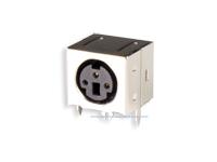 Conetor mini-DIN Base Circuito Impresso Fêmea 3 Pinos - 10.635/3