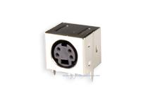 Conetor mini-DIN Base Circuito Impresso Fêmea 4 Pinos - 10.635/4