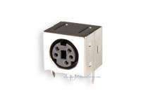 Conetor mini-DIN Base Circuito Impresso Fêmea 5 Pinos - 10.635/5