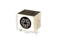 Conetor mini-DIN Base Circuito Impresso Fêmea 7 Pinos - 10.635/7