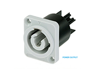 Powercon - 20 A Chassis-Mount Connector Output