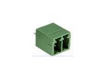 3.81 mm Pitch - Pluggable Straight PCB Male Terminal Block 2 Contacts