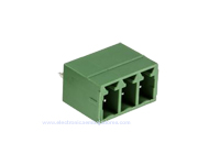 3.81 mm Pitch - Pluggable Straight PCB Male Terminal Block 3 Contacts