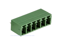 3.81 mm Pitch - Pluggable Straight PCB Male Terminal Block 6 Contacts