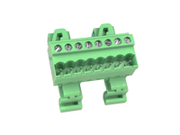 5.08 mm Pitch - Pluggable Straight DIN Rail Male Terminal Block 8 Contacts - CTBPD96VJ-08
