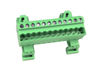 5.08 mm Pitch - Pluggable Straight DIN Rail Male Terminal Block 12 Contacts - CTBPD96VJ-12