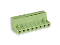 5.08 mm pitch - pluggable right angle female terminal block - 8 contacts