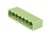 5.08 mm pitch - pluggable straight male closed terminal block - 7 contacts