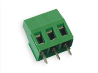 18 mm PCB terminal block 5.08 mm pitch 3 contacts