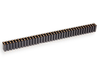 2.54 mm Pitch - Turned Pin Straight Female Header Strip - Double Length 72 Pins - 02-803.87.072.10.001