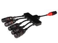 Camdem CPWPES1X5 - IP68 Splitter 1 x 5 - 3 Poles