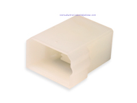 Protection Block for Faston Male 4 Way (Equivalent: 180901) - TE9294