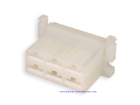 Protection Block for Faston Female 6 Way (Equivalent: 180904) - TE9196