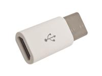 Conector Adaptador micro-USB-B Hembra a USB-C Macho 3.1 - O.T.G. - 4157BL