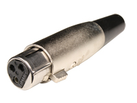 ITT Cannon XLR311C - 3 Pole Female Cable XLR Connector