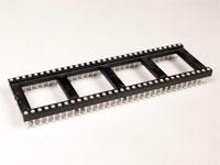 Support de Circuit Intégré DIL 64 Pòles Large - Pin Sécable - 18.905/40