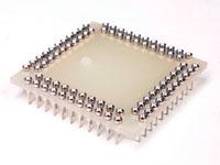 Support de Circuit intégré PGA 84 Pòles - Pin Sécable - 35 x 35 mm