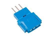 Amphenol Clincher - Connecteur FCI Mâle 3 Pòles - COM-14197
