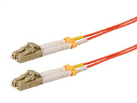 LC to LC - MM 62.5-125 3.0 mm - 10 m Duplex Fiber Optic Cable
