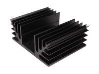 Disipador de Calor 75 x 88 x 35 mm - 2 x TO3 - 41/7/2A