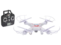 Velleman RCQC1 - Drone con Cámara HD (2 MP) - Transmisor de 4 Canales 2.4 GHz
