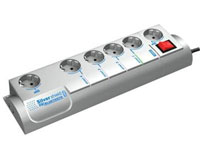 Smart, programmable power strip with surge protection - BLUETOOTH - SIS-PM-BT