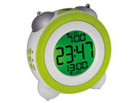 Double Bell Alarm Clock with Digital Screen - WT705G
