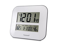 Wall Clock with Thermometer - FM-M7