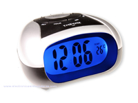 Desktop talking Alarm Clock - Says the Time - for Blind or Visually Impaired Users - FM-CLIBIZA