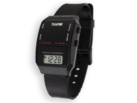 Talking Alarm Watch - Says the Time - for Blind or Visually Impaired Users - FM-YL647