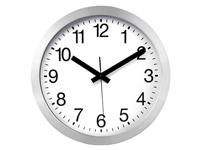 Aluminium Wall Clock with DCF - Ø 30 cm - WC30D2