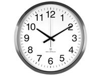 Aluminium Wall Clock with DCF - Ø 30 cm - WC50D