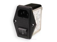 Filtre EMI/EMC com Base IEC60320 C14 com Fusible et Interrupteur