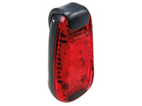 LED Light with Multiuse Clip - Colour Red - EBL20