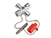 Knipex 00 11 03 - Switch Cabinet Key for Common Cabinets and Shut-Off Systems
