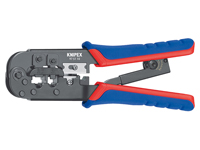 Knipex 97 51 10 SB - Crimping Pliers for 6P6C, 8P8C Modular Connectors