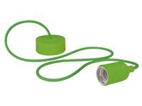 Lâmpada de Suspensão Teto - E27 - tipo rétro - Cor Verde - LAMPH01GR