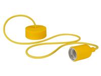 Lâmpada de Suspensão Teto - E27 - tipo rétro - Cor Amarelo - LAMPH01Y