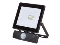 Foco LED 10 W Branco Neutro - com Sensor Movimento - PIR - LEDA6001NW-BP