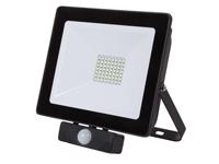 Foco LED 50 W Branco Neutro - com Sensor Movimento - PIR - LEDA6005NW-BP