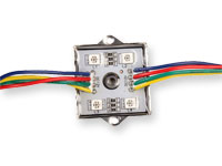 LED Module 1.44 W 12 V RGB - 4 x SMD5050 - BM3243 RGB