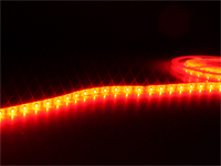 Roll of Self-Adhesive Red LED Strip - 300 2835 LEDs per Roll - IP65 - 5 m - MJ-B2835FS30-F12W08