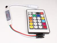 Controlador WS2812, WS2811, Neopixel - con Mando a Distancia - ABQ000020