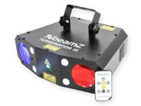 beamZ Terminator III - Double Moonflower, Laser 56 LEDs RGB + 4 LEDs Blanc Stroboscope - 153.716NL