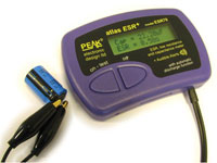 ESR70 - ERS measurer - low resistance and capacitance measurer