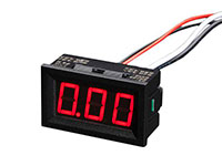 Digital Current Meter with LED - 0 .. 9,99 A